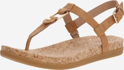 Šlepetės per pirštą iš UGG , spalva - smėlio / ruda, Prekių apžvalga