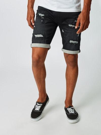 Jeans INDICODE JEANS pe negru, Vizualizare model