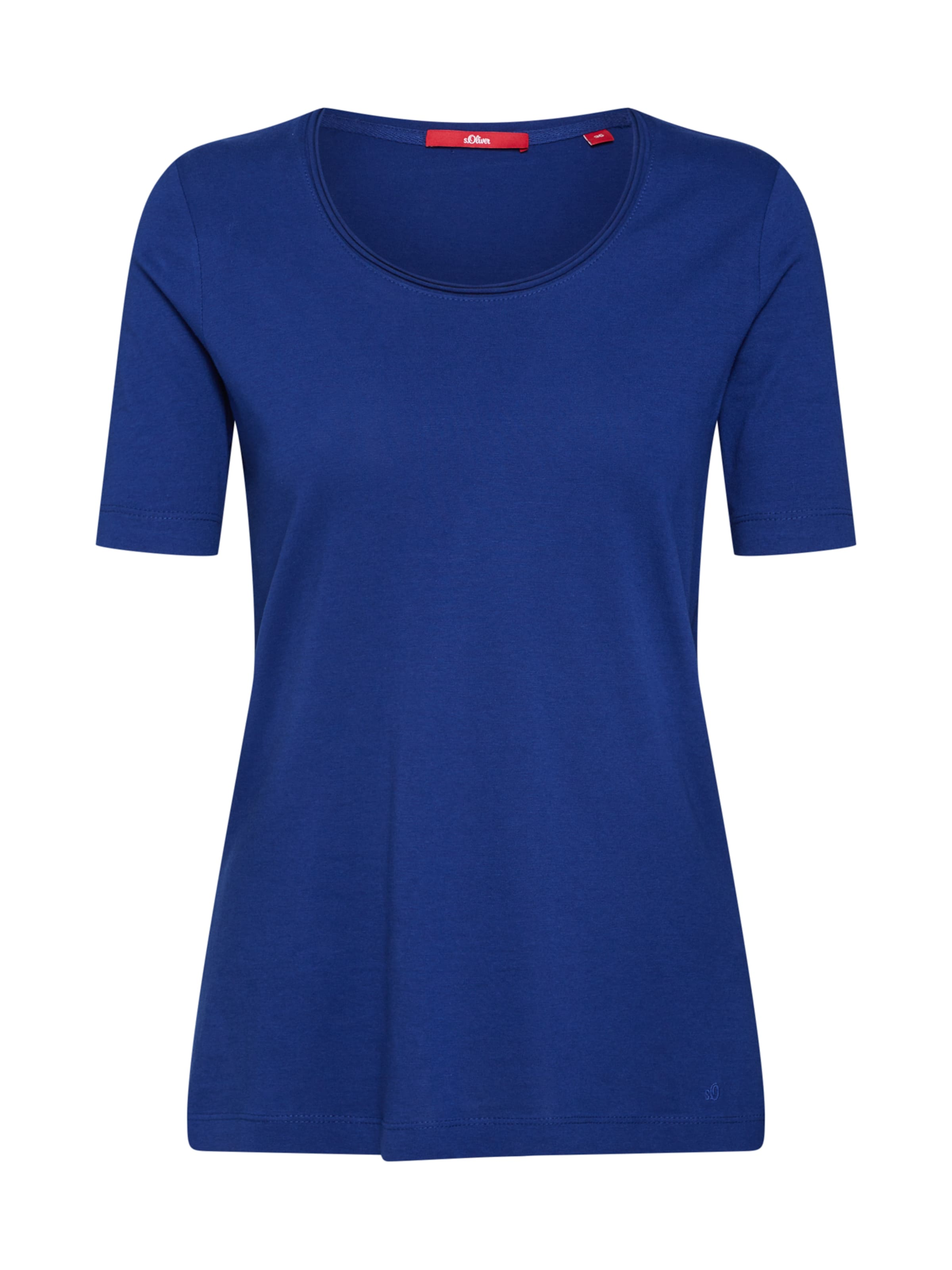 In Label Blau Shirt Red S oliver doEQCerxBW