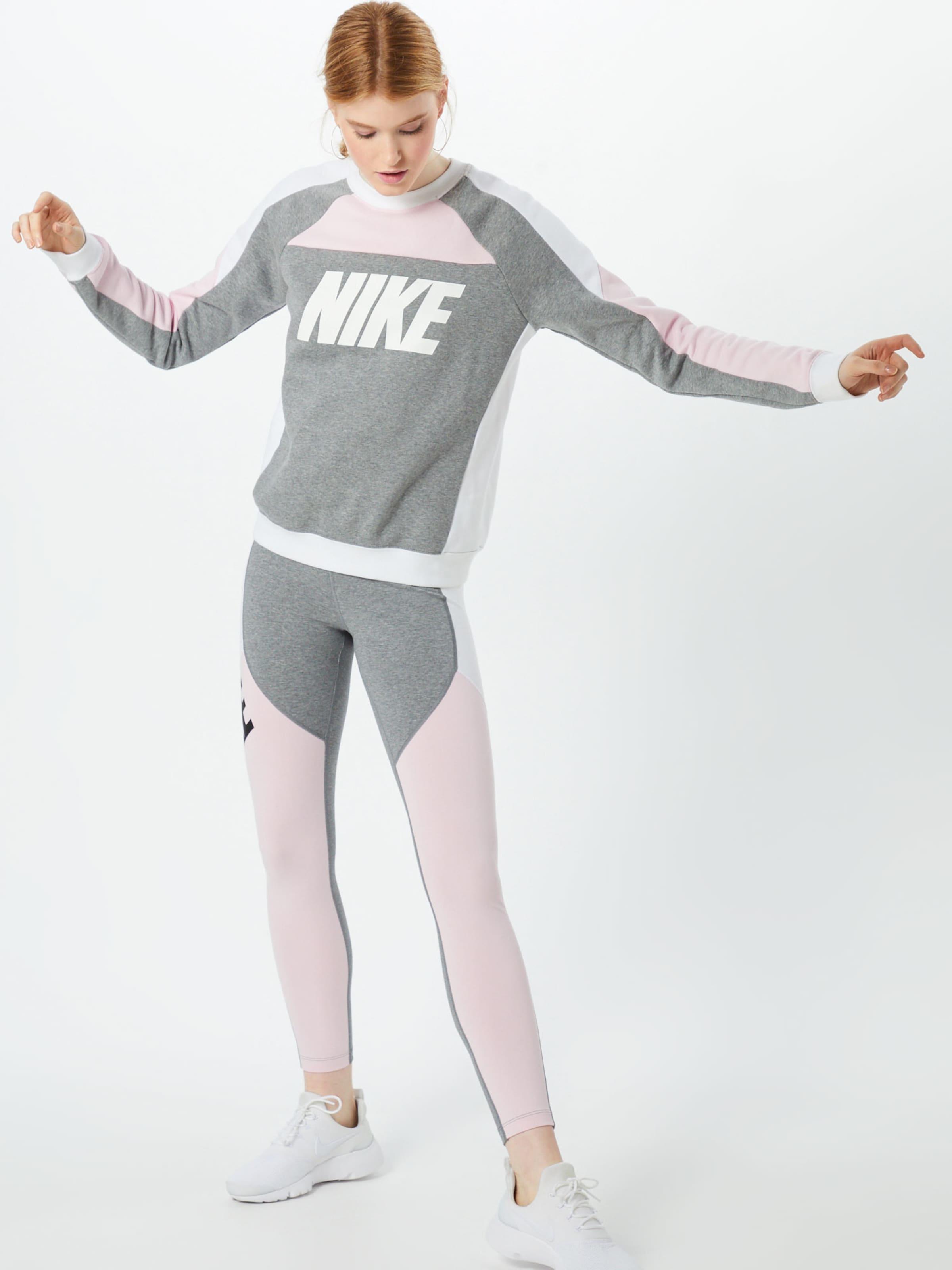 Weiß Nike Leggings GrauRosa Sportswear In k8nOwX0P