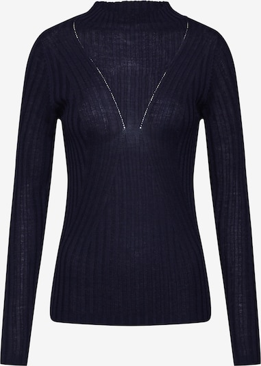 SELECTED FEMME Pullover 'SLFLIMA LS KNIT T-NECK' in nachtblau, Produktansicht