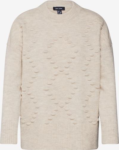 NEW LOOK Pullover 'BOBBLE' in beige, Produktansicht