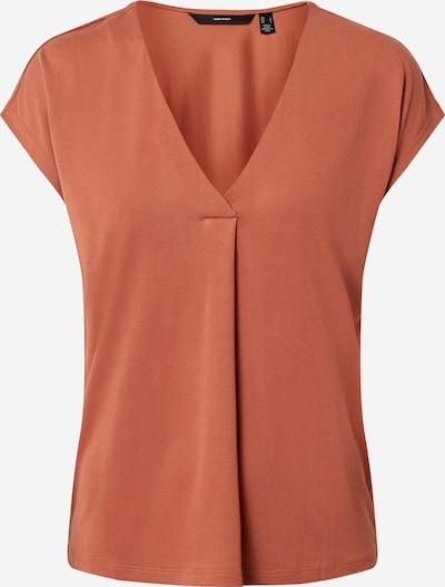 VERO MODA T-shirt 'Beca' en marron, Vue avec produit