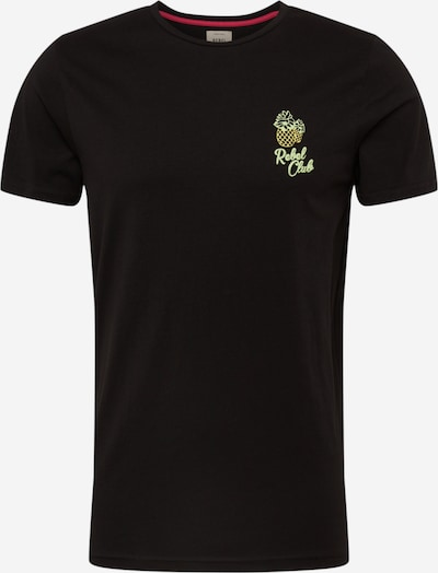 Redefined Rebel Shirt 'RRConner Tee' in gelb / schwarz, Produktansicht