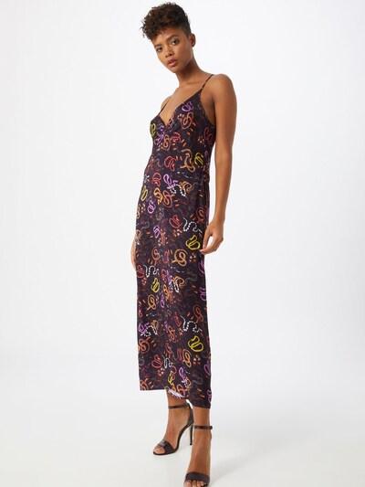 Ottod'Ame Kleid 'ABITO' in lila / orange / schwarz, Modelansicht