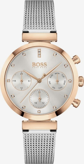 BOSS Casual Analog watch 'FLAWLESS' in Rose gold / Silver / White, Item view