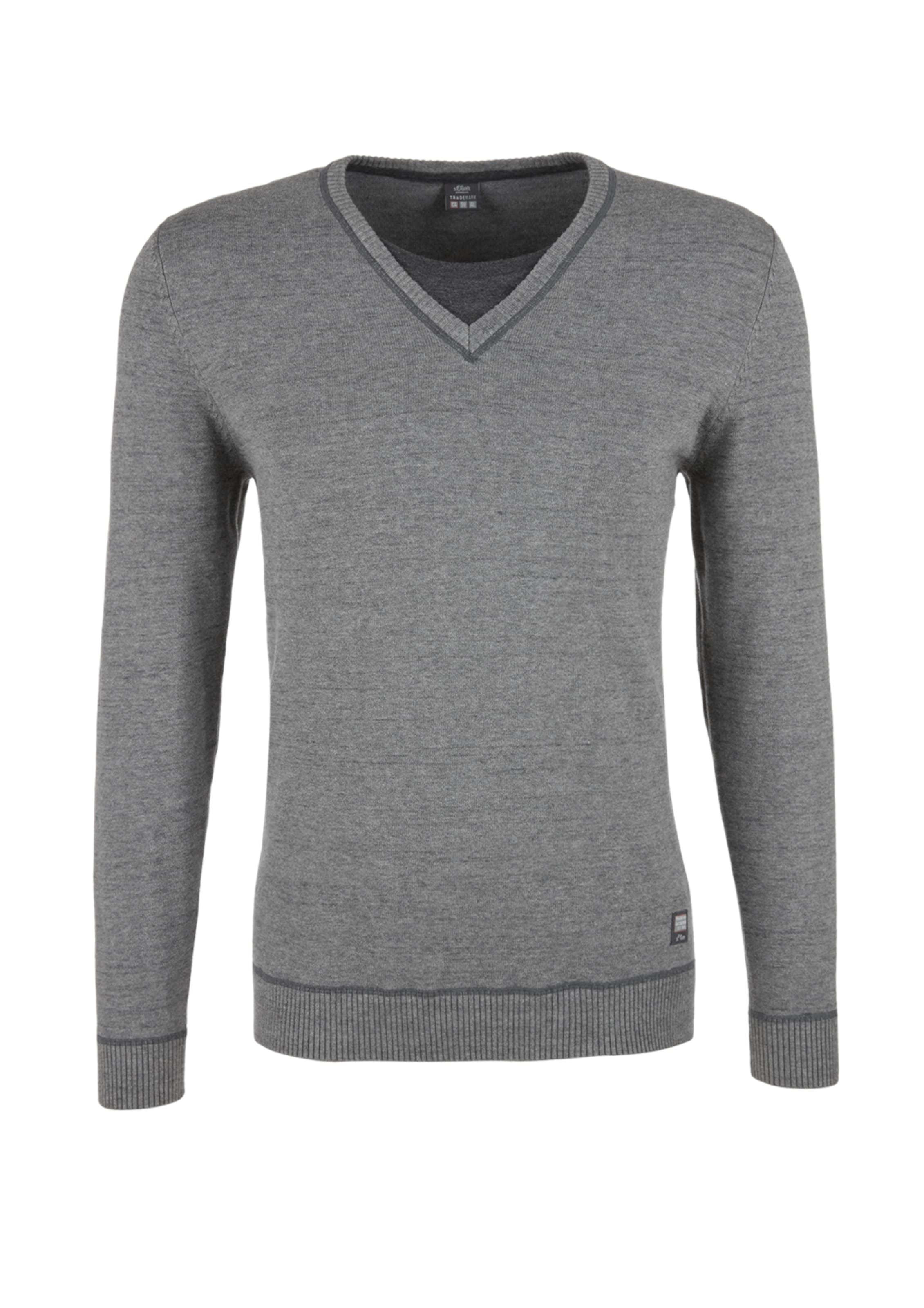 oliver DunkelgrauGraumeliert S Pullover oliver S In y0OvNwPm8n
