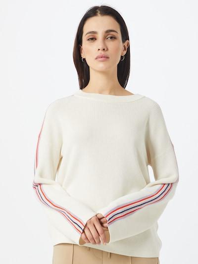 BOSS Pullover 'Wamika' in weiß, Modelansicht