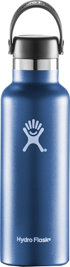 Hydro Flask Flasche in blau / weiß, Produktansicht