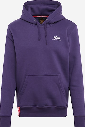 ALPHA INDUSTRIES Sweatshirt in lila, Produktansicht