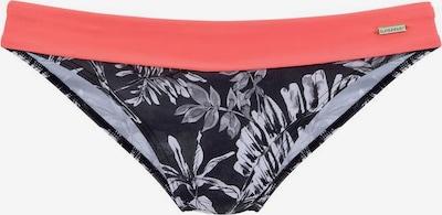 SUNSEEKER Bikinihose in orange / schwarz / weiß, Produktansicht