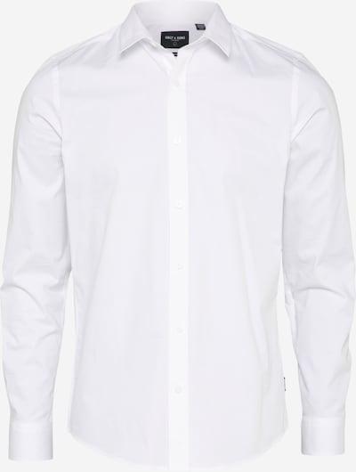 Only & Sons Chemise 'ALFREDO' en blanc, Vue avec produit