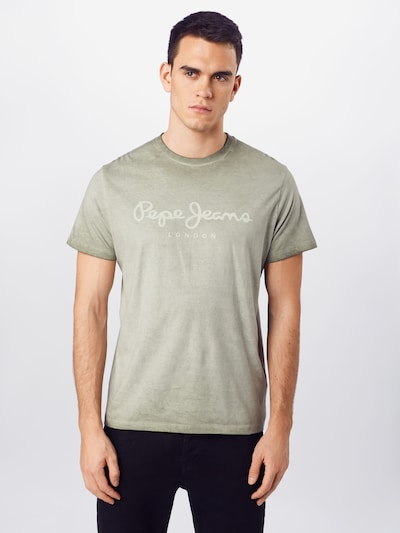 Pepe Jeans T-Shirt 'WEST SIR' in khaki: Frontalansicht