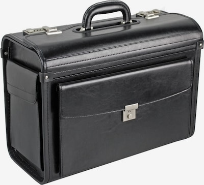 Dermata Pilotenkoffer 46 cm in schwarz, Produktansicht