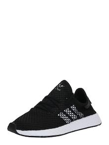 ADIDAS ORIGINALS Sneaker 'Deerupt Runner' negru/ alb