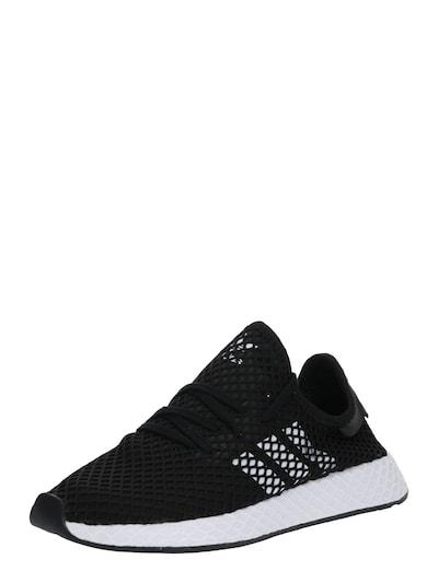 ADIDAS ORIGINALS Sneaker 'Deerupt Runner' in schwarz / weiß