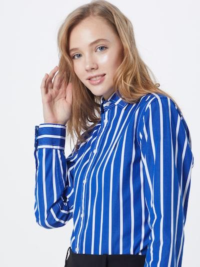 POLO RALPH LAUREN Bluse 'EST GEORGIA' in blau / weiß, Modelansicht