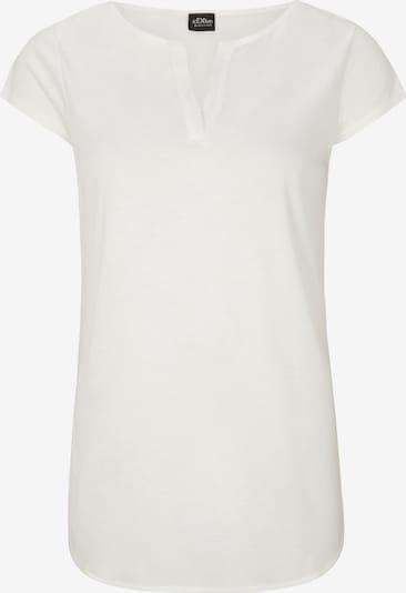 s.Oliver BLACK LABEL Shirt in weiß, Produktansicht