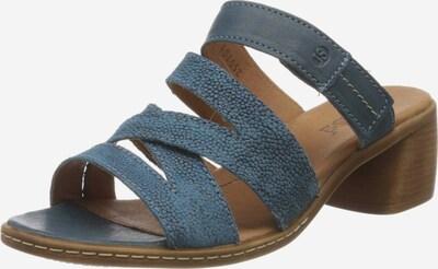 JOSEF SEIBEL Pantolette 'Juna' in taubenblau, Produktansicht