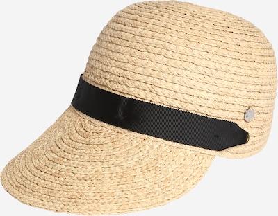 ESPRIT Hut 'Rafia' in beige / schwarz, Produktansicht
