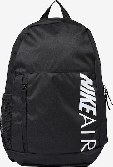 Nike Sportswear Mugursoma 'Y NK ELMNTL BKPK - GFX FA19' pieejami melns, Preces skats