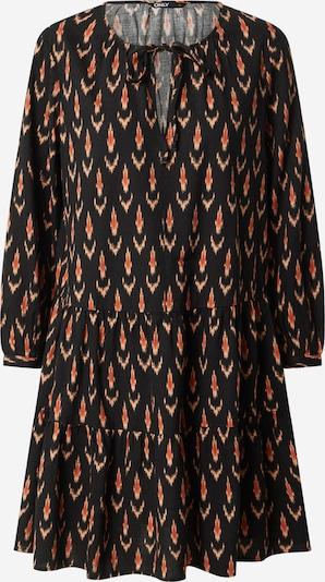 ONLY Robe-chemise 'SPELL' en rouille / orange pastel / noir, Vue avec produit