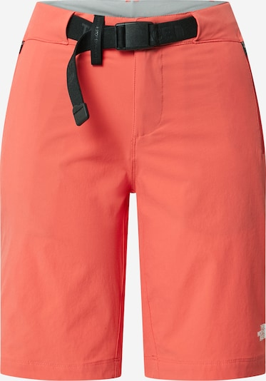 THE NORTH FACE Sports trousers in bright red / Black, Item view