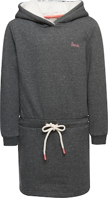 BENCH Kleid 'HOODED SWEAT DRESS  AF'