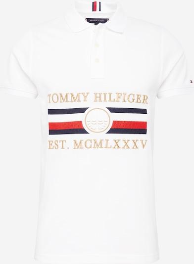 TOMMY HILFIGER Poloshirt in mischfarben / weiß, Produktansicht