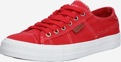Dockers by Gerli Plateausneaker in rot, Produktansicht