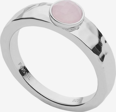 FOSSIL Fingerring  'JFS00499040' in pink / silber, Produktansicht