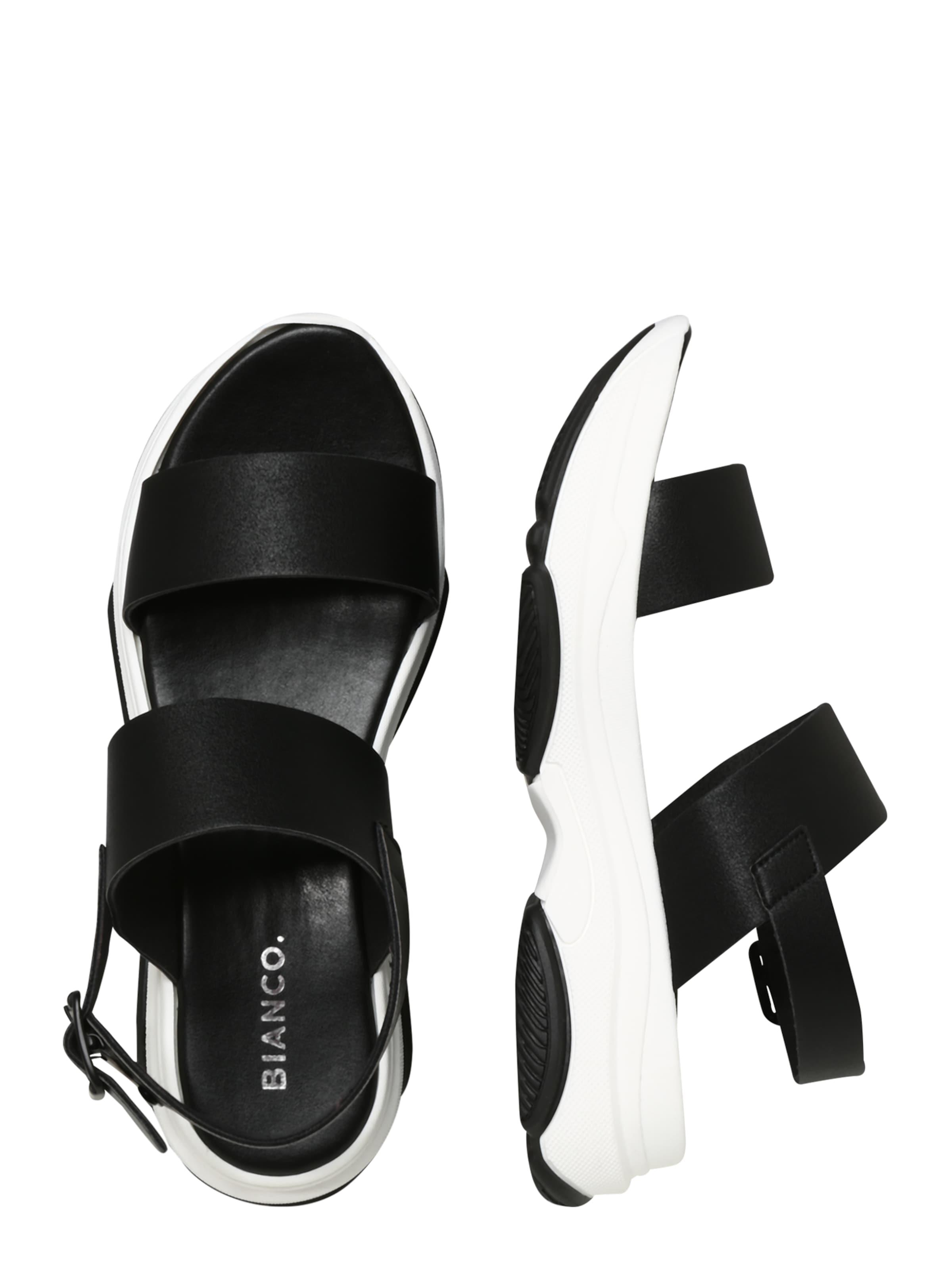 Bianco 'biaalia' Bianco In Sandale Sandale Bianco In 'biaalia' Sandale Schwarz Schwarz lFJTK31c