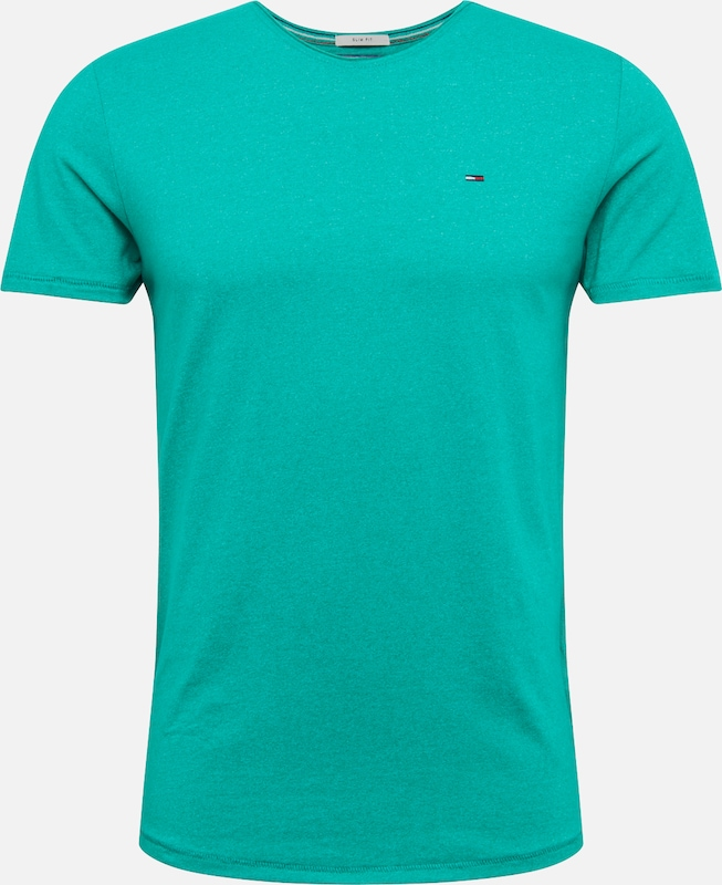 Jeans shirt T Tommy Turquoise En rQCtdsh