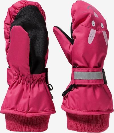 STERNTALER Handschuhe in pink / rosa / schwarz, Produktansicht