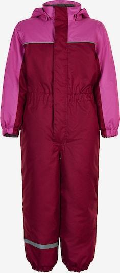 COLOR KIDS Schneeanzug in pink / rot, Produktansicht