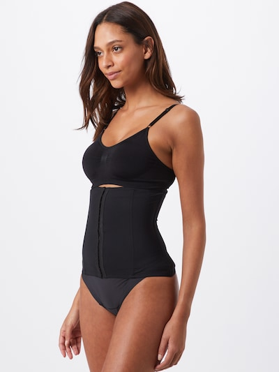 Top modelator 'Maxi Sexy Waistnipper' MAGIC Bodyfashion pe negru: Privire frontală