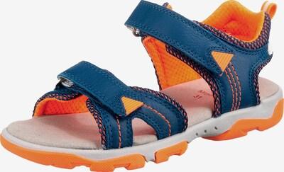 ELEFANTEN Sandale in nachtblau / orange, Produktansicht