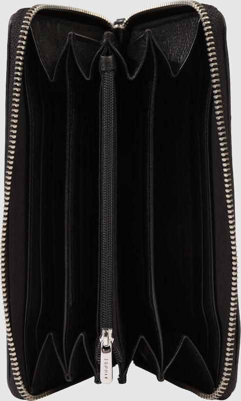 ESPRIT Schlichte Brieftasche aus Leder
