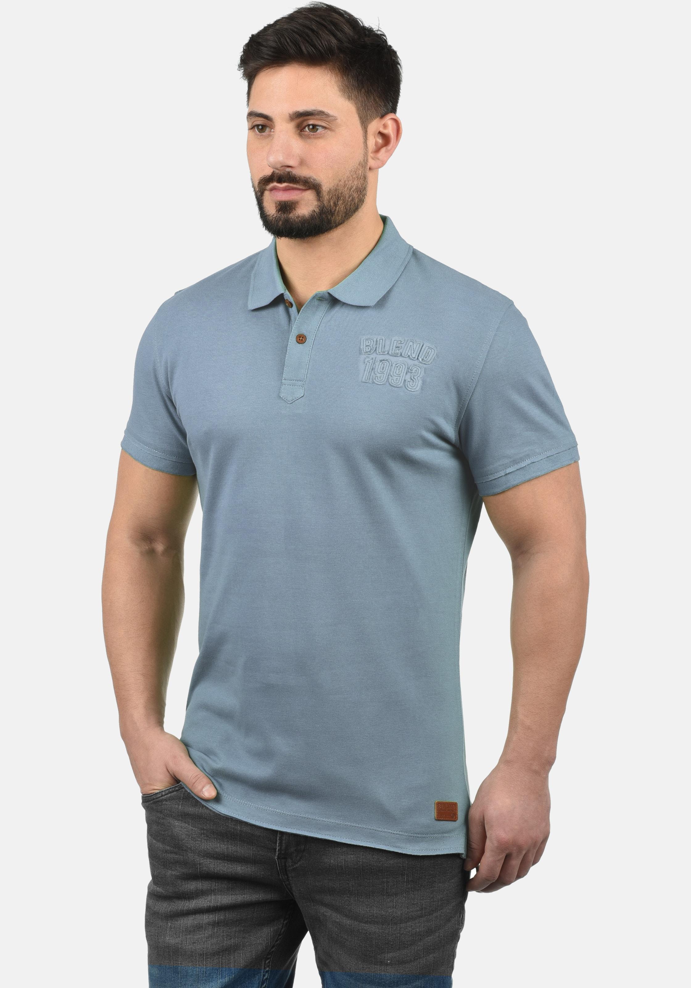 Poloshirt In 'tadeus' Blend Blend 'tadeus' Blend In Poloshirt Poloshirt In 'tadeus' Blau Blau nwXN0OPkZ8