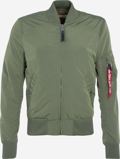 ALPHA INDUSTRIES Between-season jacket 'MA-1 TT' in green, Item view