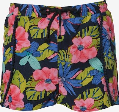 LEMON BERET Shorts in blau / hellgrün / pink / schwarz, Produktansicht