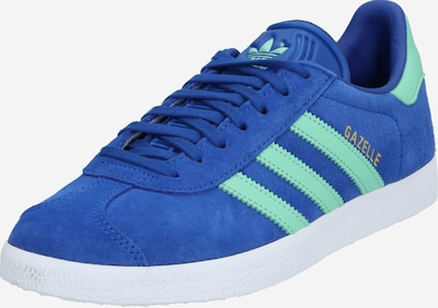 ADIDAS ORIGINALS Sneaker 'GAZELLE' in royalblau / mint, Produktansicht