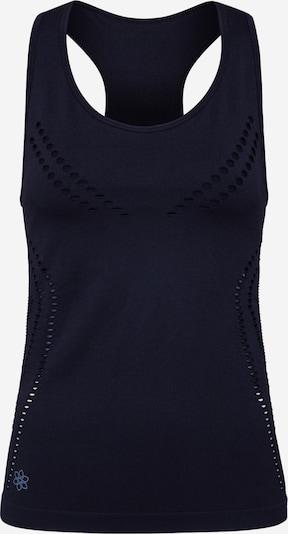 Divine Flower Top sportowy 'Lena Seamless' w kolorze czarnym, Podgląd produktu