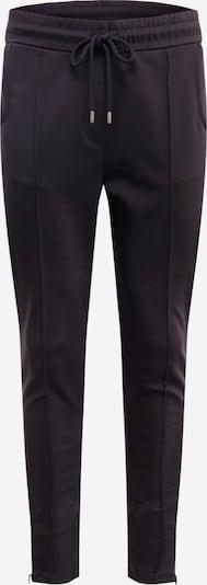 BE EDGY Kalhoty 'Easton' - černá / bílá: Pohled zepředu