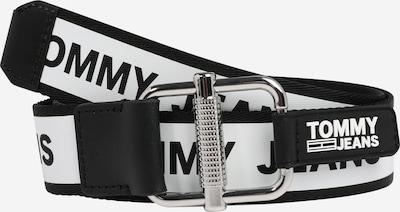 Tommy Jeans Gürtel in schwarz / weiß, Produktansicht