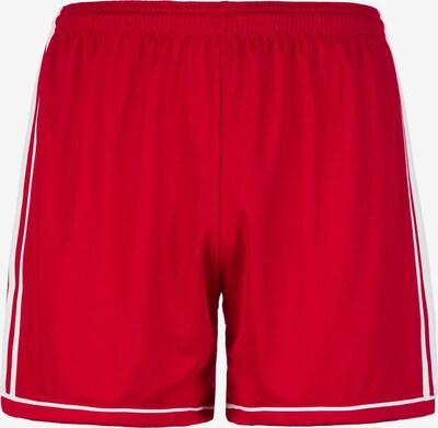 ADIDAS PERFORMANCE Shorts 'Squadra 17' in rot / weiß, Produktansicht