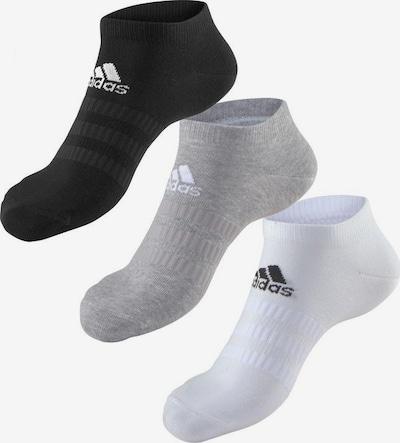 ADIDAS PERFORMANCE Sneakersocken in graumeliert / schwarz / weiß, Produktansicht