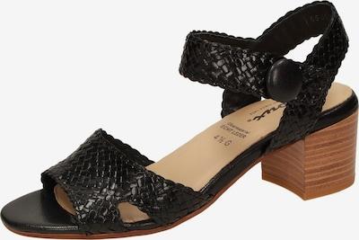 SIOUX Sandale in schwarz, Produktansicht