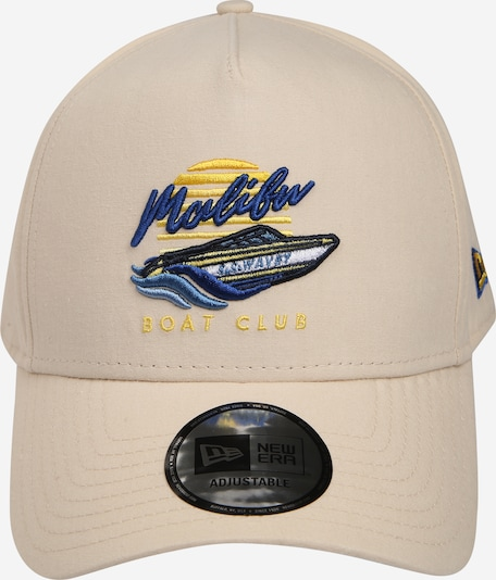 NEW ERA Cap  'NEW ERA BEACH TRUCKER' in beige / dunkelblau / gelb, Produktansicht