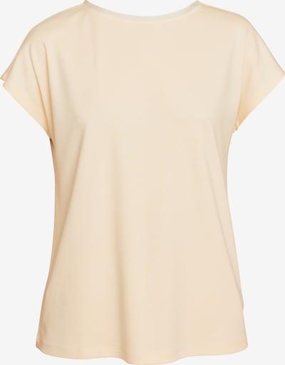 ECHTE T-Shirt in apricot, Produktansicht
